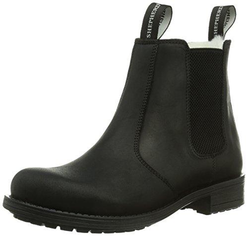 Shepherd Damen SANNA OUTDOOR Chelsea Boots, Schwarz (BLACK 10), 36 EU
