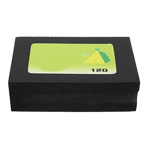 Diamant Schleifblock Handschleifer Polierblock Polierflächen Universalschleifer Steinschleifer für Beton Marmor - 120 Grit