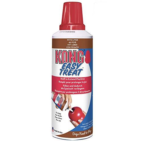 KONG - Easy Treat - Pasta de Premio para Perro - 8 onzas/227 Gramos - Hígado ✅