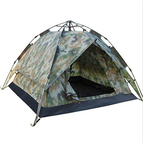 CATRP Marque en Plein Air 2-3 Personnes Tente De Camping Automatique Étanche À La Pluie Double Tissu Multifonction Tente Dôme