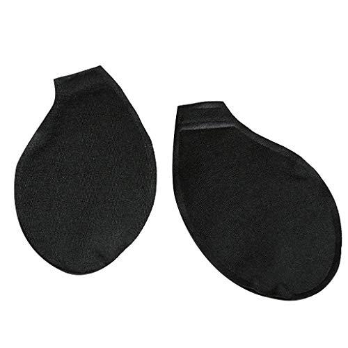 UANGER Rollerball Massagegerät Hals Zurück Schmerzen Entgegenwirken Das Probleme Von Atypisch Brust BH Klebe BH Trägerloser Puch Up Bra (black)