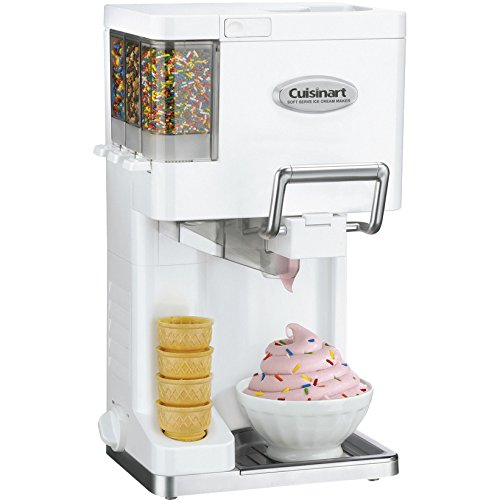 1.5 Qt. Mix It In Soft Serve Ice Cream Maker- Pieces Included: Unit; freezer safe mixing bowl-mixing blade -Freezing Required: Yes-Completion Time: 20 minutes-Amount Produced: 1.5 Quarts-Gift
