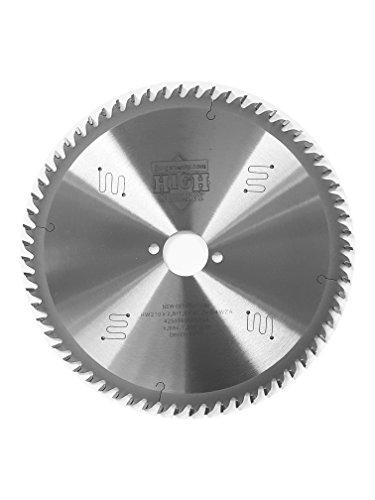 Preisvergleich Produktbild HM Sägeblatt 210 x 2, 8 x 30 mm mit 64 Wechselzahn LOW NOISE,  Industriequalität nach DIN EN 847-1