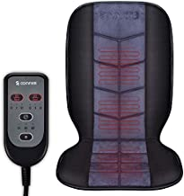 COMFIER Heated Car Seat Cushion - Universal 12V Car 24V Truck Seat Heater with 2 Levels of Heating Pad for Full Back and Seat, Heated Seat Cover for Car,Home,Office Chair Use