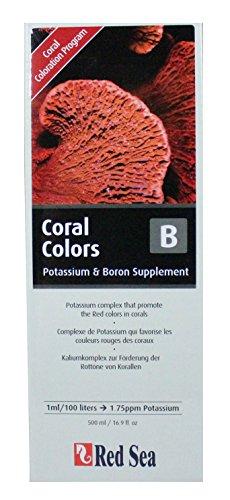 Red Sea R22053 Coral Colors B, voor koraal, 500 ml, rode tinten