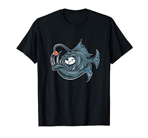 Anglerfisch Angeln, Wassersport Tauchen Fischer, Geschenk T-Shirt