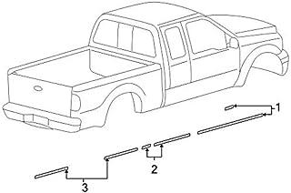 ملصق مخطط أصلي Ford 8C3Z-26255A66-CA