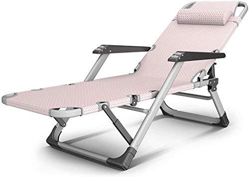 Sonnenliege Liege Klappstuhl Sessel Siesta Stuhl Massagesessel,Pink