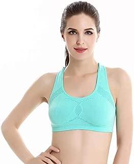 BEESCLOVER Yoga Shirts Ladies\' Sports Yoga Running Bra Vest Breathable Sweatwear Sleeveless Yoga Shirt for Gym Fitness Sportswear