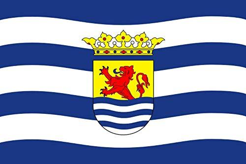 DIPLOMAT Flagge Zeeland   Querformat Fahne   0.06m²   20x30cm für Flags Autofahnen