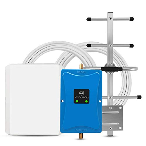 ANNTLENT Ripetitore gsm 4G 800 900MHz (Tim,Wind,Vodafone)- chiamate e Internet 4G LTE per Amplificare Il Segnale Cellulare in casa o in Ufficio - Versione Aggiornata