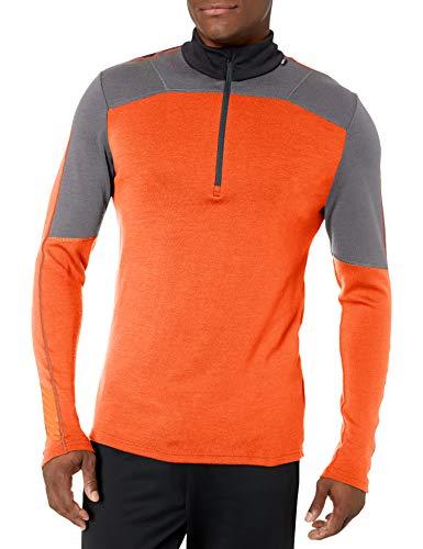 Helly Hansen HH LIFA Merino 1/2 Zip Camiseta, Naranja (Naranja 226), XXL para Hombre
