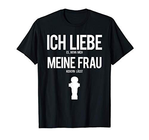 Tischkicker Tischfußball Kickern Tischkickern Wuzzler krökel T-Shirt