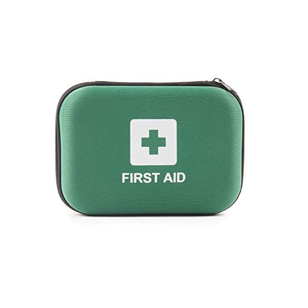 Home Treats First Aid Kit Bag. Essential For Home, Work, Sports, Office, Travel, Car, Camping.Includes Emergency Blanket… 1