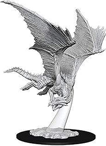 WizKids D&D Nolzurs Marvelous Unpainted Miniatures: Wave 9: Young Bronze Dragon