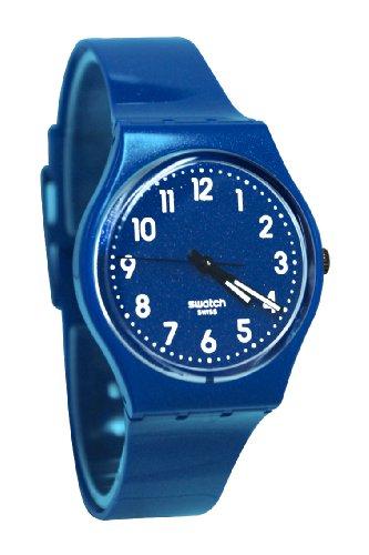 Swatch GS142 - Reloj analógico de Cuarzo Unisex con Correa de Silicona, Color Azul