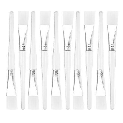 ENET 10 Stks Plastic Gezicht Gezichtsmasker Mengborstel Huidverzorging Schoonheid Make-up DIY Tool