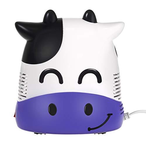 Maclean PR-810 Inhalator Inhaliergerät Set für Kinder und Erwachsene Vernebler Inhalation (Kuh)