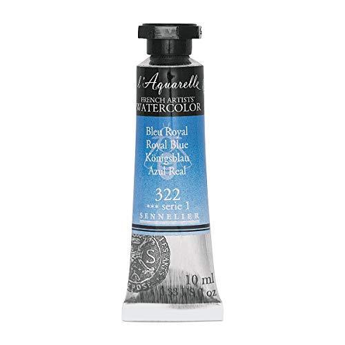 Sennelier l'Aquarelle Watercolor Tubes 10ml - Royal Blue 10ml Tube