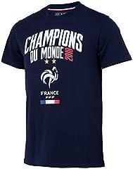 Camiseta Hombre Oficial Selección de Fútbol de Francia FFF - Champion del Mundo 2018
