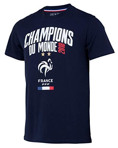 Camiseta del equipo de fútbol FRANCE del Campeón del Mundo 2018 – Colección oficial para niños 8 años