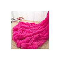 毛布 ベロールベッドスローブランケット - スーパーソフトフリ暖かいフランネルベッドスプレッド - VelvyThy Plushフリーススローソファベッド毛布 - Red_160 * 200cm 寝室、ソファ用 (Color : Red, Size : 80x120cm)