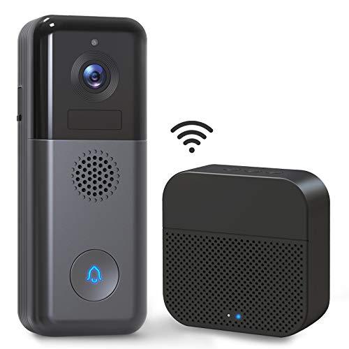 WiFi Video Doorbell Camera, XTU 2K Wireless...