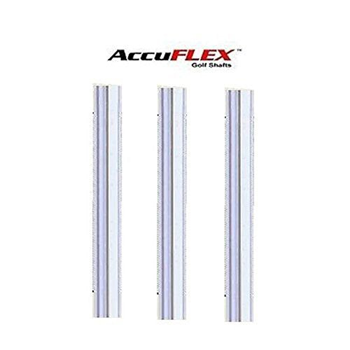 Accuflex Set of 8 Precision Tour STEPLESS Steel PGA Iron SHAFTS .370 -A,R,S...