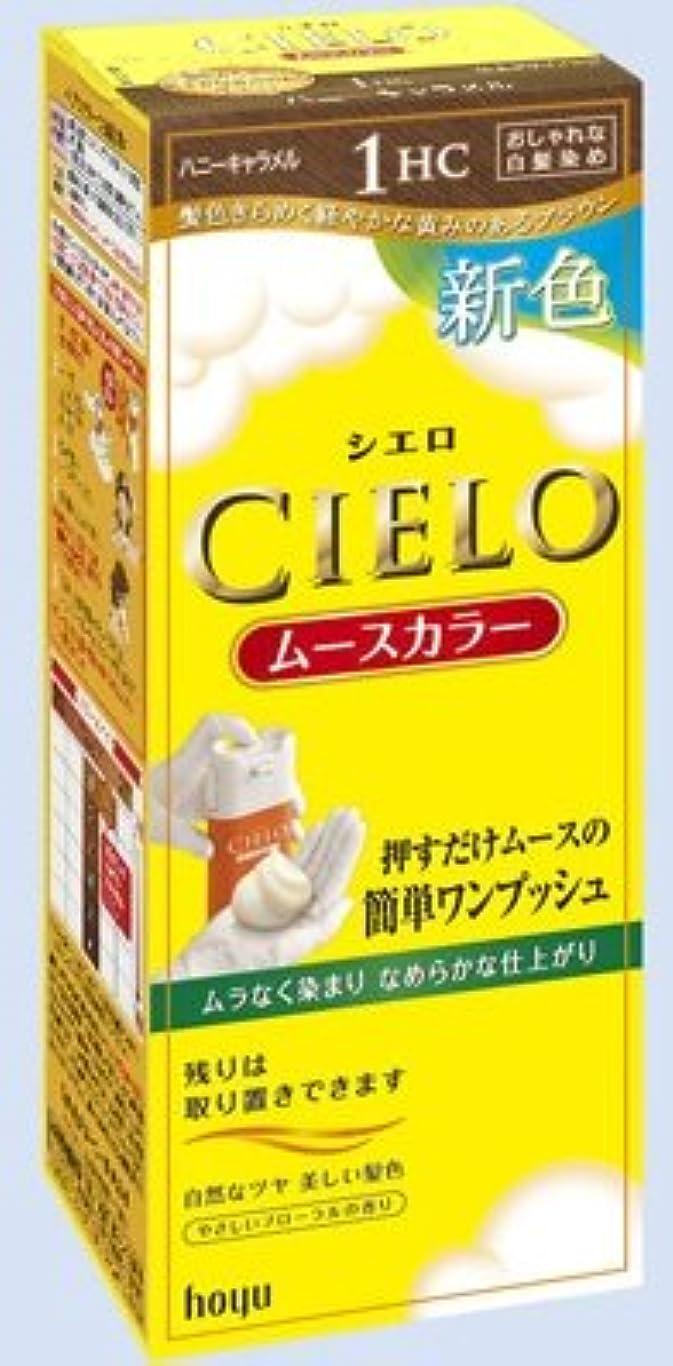 調整するサスペンション繁殖CIELO(シエロ) ムースカラー 1HC ハニーキャラメル × 3個セット