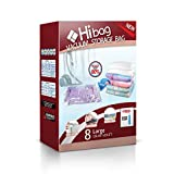 Hibag Space Saver Bags Combo with A Free Hand Pump for Home Storage and Travel...