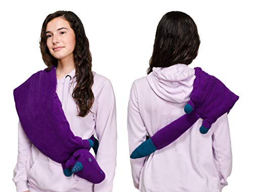 Yogibo Weight Mate Weighted Shoulder Wrap, Natural Calming Aromatherapy Therapeutic for Stress, Anxiety, Comfort with Lavender and Peppermint Scent, Unicorn