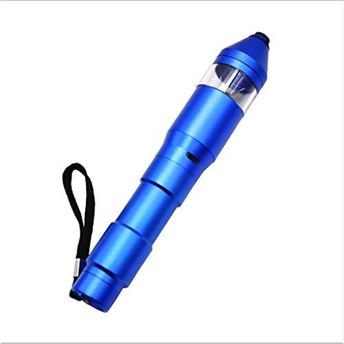 ZHIRCEKE Électrique Pen Shaped électrique Herb, USB Rechargeable Grinder Fine Handy Grinder électrique Automatique Herb Crusher, Petit électroménager de Cuisine,B