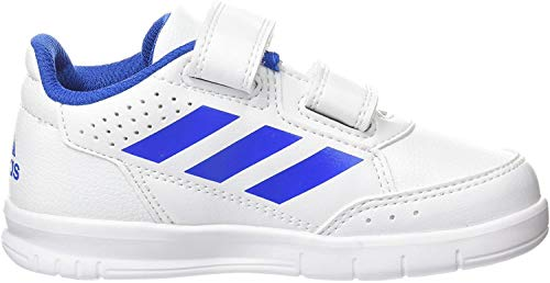 adidas Altasport CF I, Zapatillas Unisex Niños, Blanco (Footwear White/Blue/Footwear White 0), 24 EU