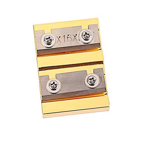 Nrpfell Geigen Reparatur Peg Werkzeug, Professional 4/4 3/4 Violin Peg Shaver Stahl Klinge Gitarren Werkzeug Geigenbau