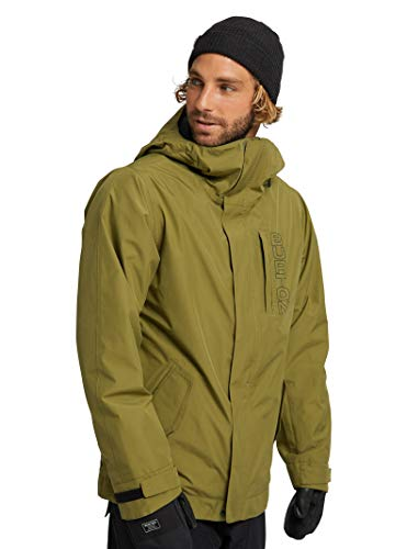 Amazon Brand - Buttoned Down Men's Water Repellant Quilted Car Coat, Grey XXL