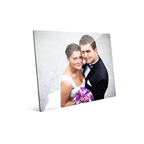 Picture Wall Art Your Photo on Custom Glass 10 x 8 Horizontal Print