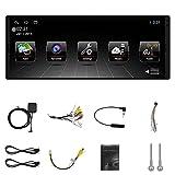 YIYIO 1 DIN Android 10.0 Reproductor Multimedia Android de AutomóVil 6.9 Pulgadas IPS Auto Radio Audio EstéReo WiFi GPS MP5 Reproductor con Cable ISO