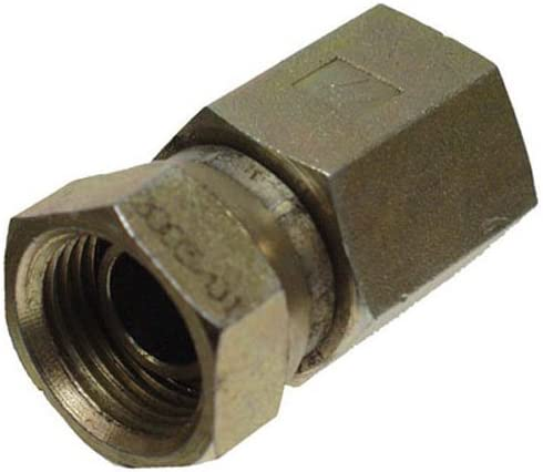 "Apache 39004800 1/2"" Female Pipe x 1/2"" Female Pipe Swivel Hydraulic Adapter (Style 1405)"