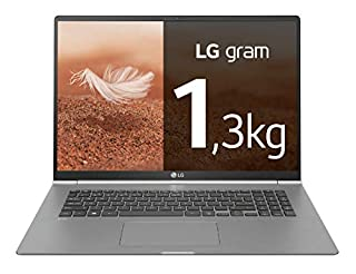 "LG gram 15Z990-V - Ordenador portátil ultrafino - 39.6 cm (15.6"") - FHD IPS (1 kg, autonomía 21.5 h, Intel i7 8ª generación, 8 GB RAM, 512 GB SSD, Windows 10 Home) Color Plata - Teclado QWERTY Español (B07R26FJ6Z) 