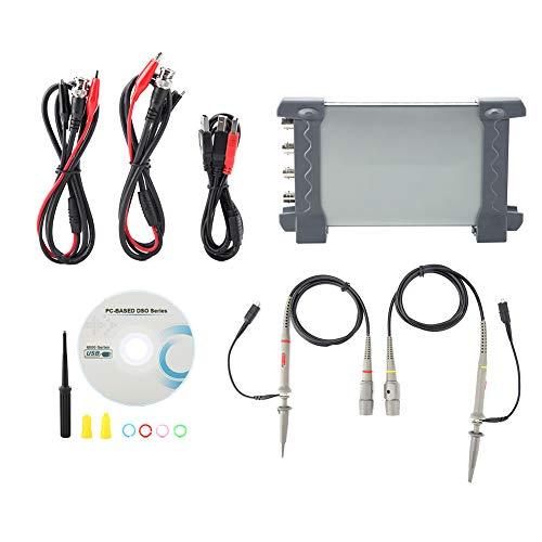 Osciloscopio digital, Osciloscopio USB de fácil operación, Protección doble ajustable para ingenieros Productos envejecidos
