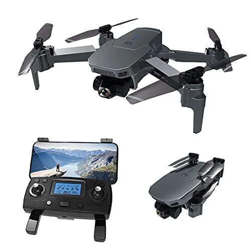 Nuevo Drone 4K HD Cámara GPS 5G WiFi FPV 2-Axis Gimbal 50X Zoom Sin escobillas RC Quadcopter Drone Plegable RC,3*Battery