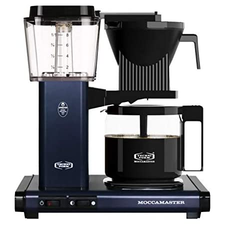 Technivorm Moccamaster 53954 KBG, 10-Cup Coffee Maker, 40 oz, Midnight Blue