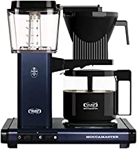 Technivorm Moccamaster 53954 KBG Coffee Brewer, 40 oz, Midnight Blue