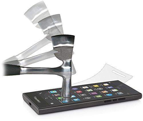 StilGut Bildschirmschutzfolie Sicherheitsglas passend für BlackBerry Leap (2er-Pack)