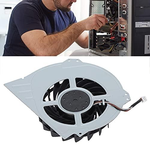 Oure Reemplazo del Ventilador de enfriamiento, Mini Ventilador de enfriamiento Interno con Conector de alimentación de 3 Cables para Consola de Juegos para Jugadores