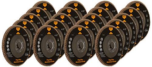 20 Angle Grinder Flap Discs 4-1/2