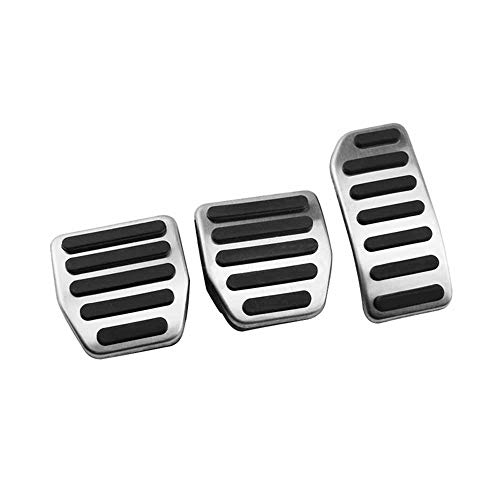 LZZCTB Fußpedalpolster für Auto-Gaspedal, passend für Volvo XC60 S60 S80L S60L V60...