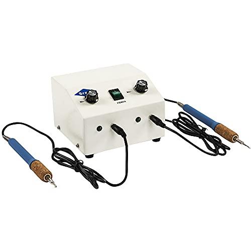 Srefo Espatula Digital Electrica Doble Para Modelar Cera Electric Wax Trimmer R-1105