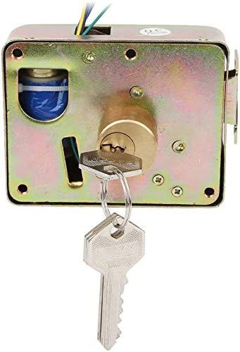 Cerradura puerta, cerradura cadena acero al manganeso, cerradura código combinación digital 4 diámetro universal 6 mm, con núcleo cerradura interior anti-aserrado, para motocicleta, coche eléctrico,