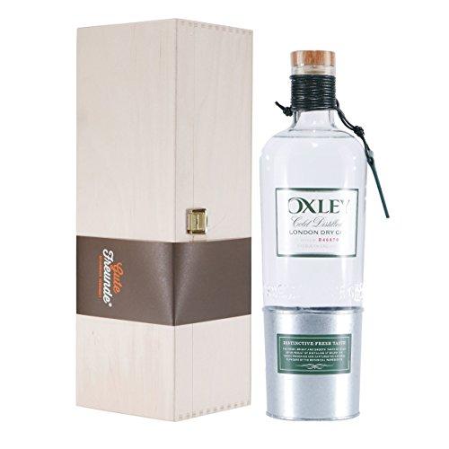 Oxley Dry Gin mit Geschenk-Holzkiste